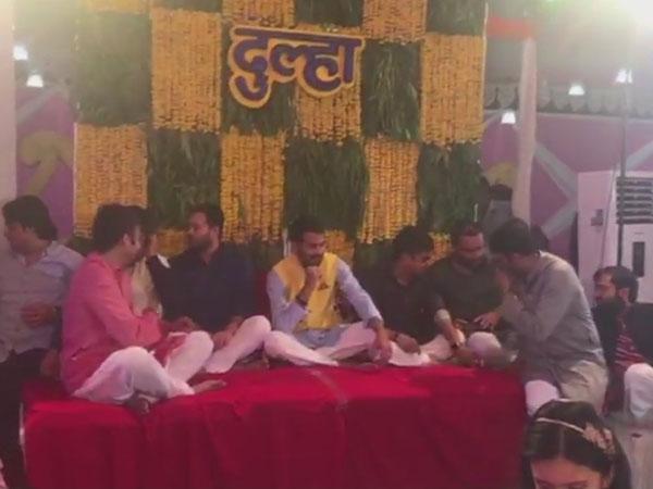 Check out Tej Pratap Yadav-Aishwarya Rai's lavish mehendi ceremony pics