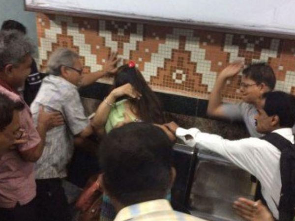 Kolkata: Young couple thrashed by mob for being too close in metro