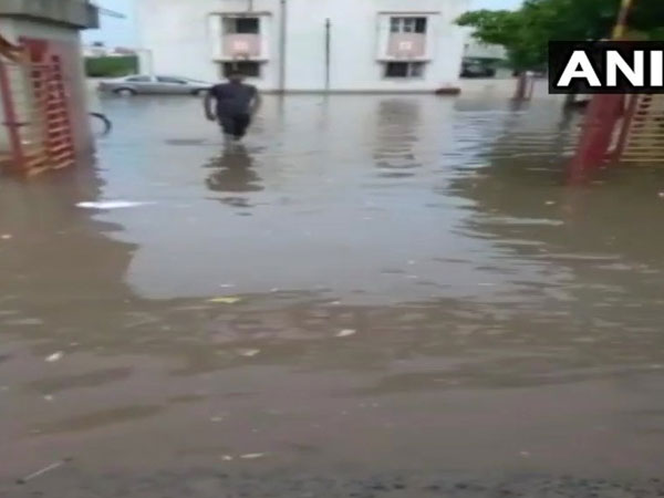 Gujarat: Ahmedabad receives first monsoon showers, streets water-logged