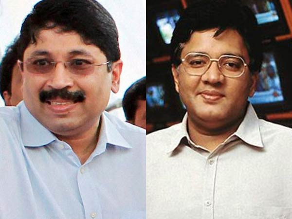 File photo of Dayanidhi and Kalanithi Maran