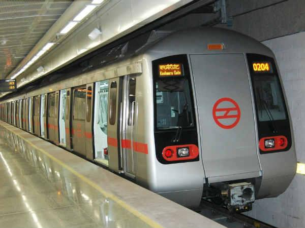 File photo of a Delhi Metro train