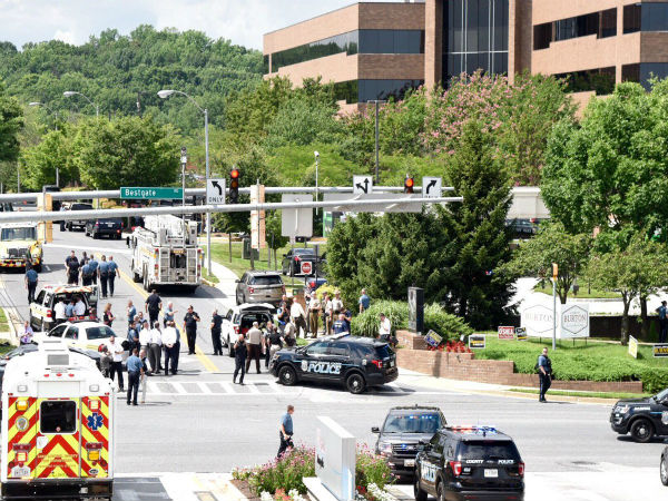 US: 4 killed in multiple shooting outside at The Capital newspaper in Marylands Annapolis