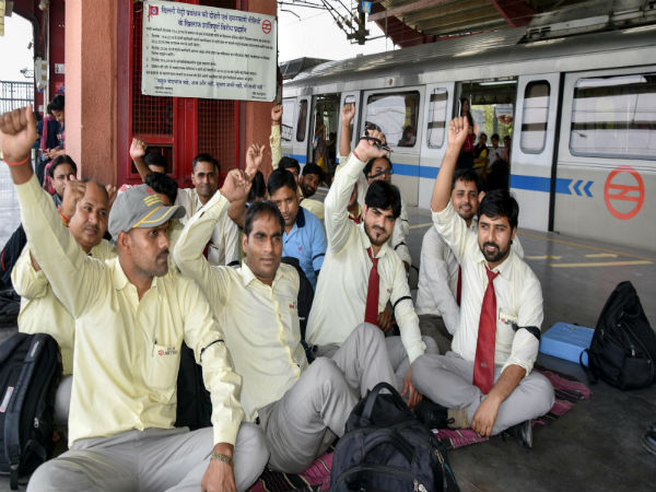 Delhi HC restrains DMRC employees from going on strike tomorrow