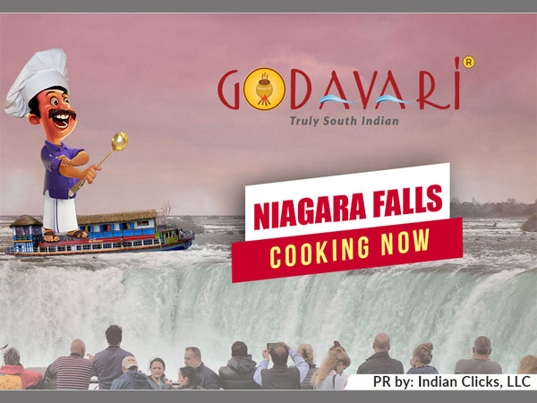 """Godavari is now flowing in NIAGARA FALLS, USA"""