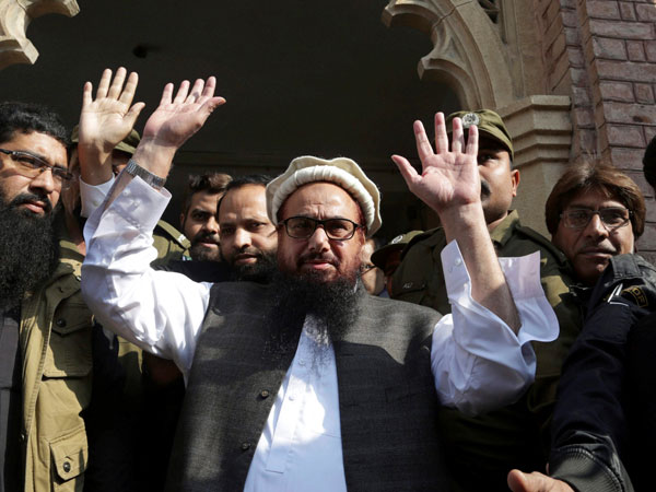 Mumbai terror attack mastermind Hafiz Saeed. PTI file photo