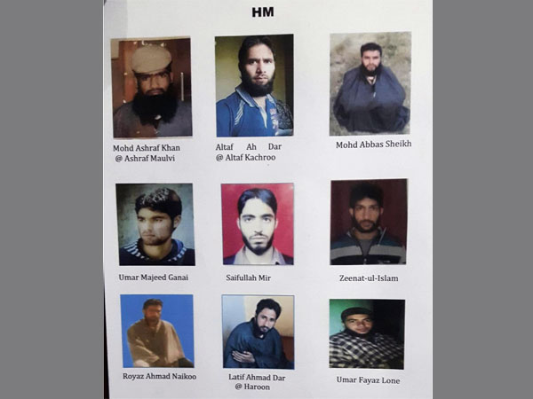 The 20 terrorists, Army is looking to gun down in Kashmir