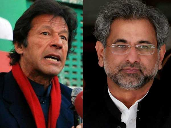 Pakistan election: Nominations of Imran Khan, Shahid Khaqan Abbasi rejected