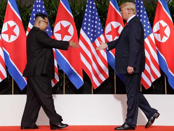 Trump's views on Kim: From 'rocket man' to 'madman' to 'very talented man'