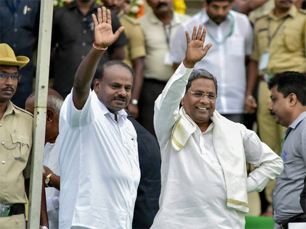 HD Kumaraswamy and Siddaramaiah