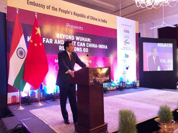 Chinese envoy to India open to India-China-Pak trilateral summit on SCO sidelines