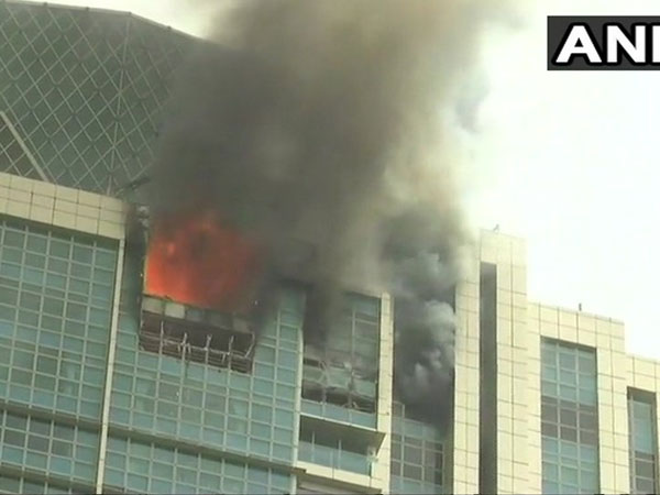 Massive fire at a Mumbai high-rise: Blaze under control ...