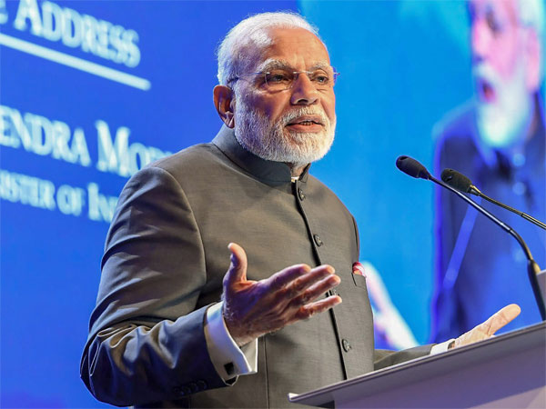 Prime Minister, Narendra Modi delivering the keynote address at Shangri La Dialogue, in Singapore