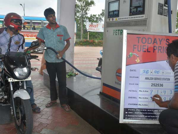 Petrol prices touch new high across metro cities