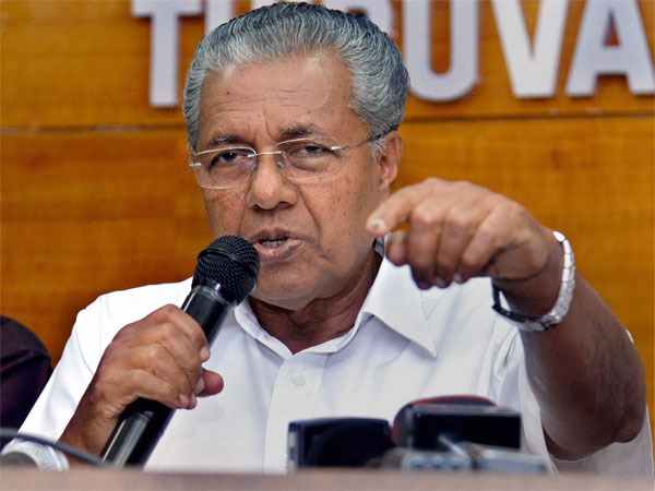 File photo of Kerala CM Pinarayi Vijayan