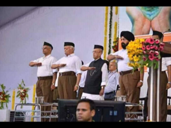 Frustrated forces at work, RSS says on Pranab Mukherjee's morphed image