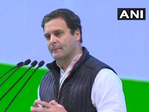 People who work hard in India are never rewarded in India: Rahul Gandhi