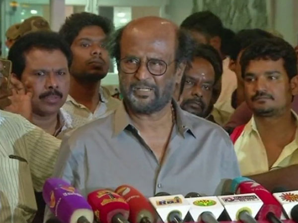 Superstar Rajinikanth says, he is ready to face next elections