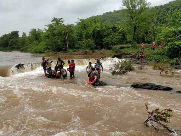 Four people go missing after car falls into river in Ratnagiri district (Representative image)