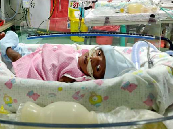 Father needs help to bring newborn girl home from the hospital