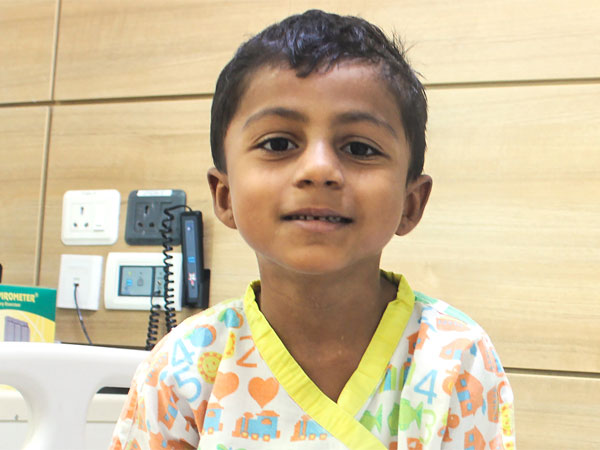 7-year-old Saksham has a hole in his heart. Needs your help