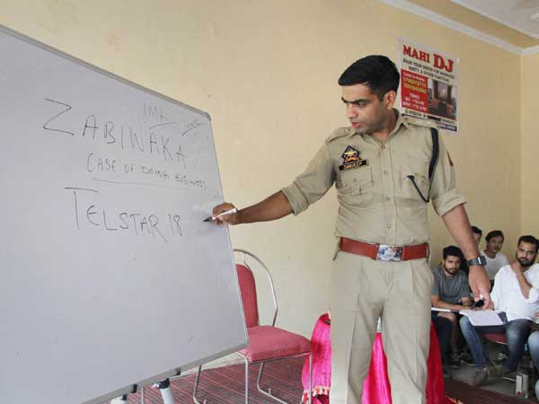 J&K: IPS officer wins hearts, coaches poor students for free in spare time