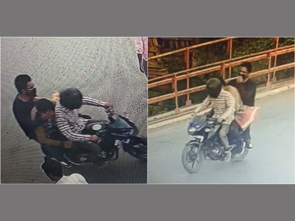 Three militants who killed journalist Shujaat Bukhari caught on CCTV camera. Pictures released by Jammu and Kashmir Police.