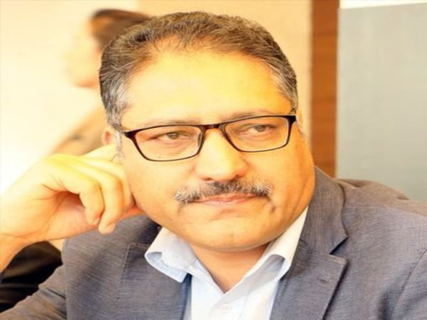 File photo of Shujaat Bukhari