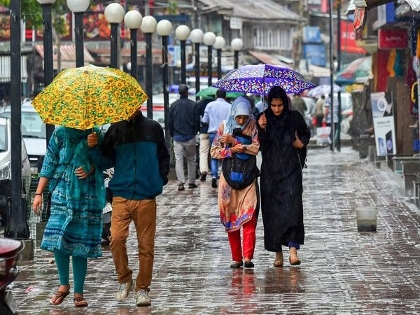 Rainfall in Srinagar