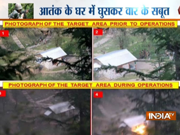Video evidence of surgical strikes emerge