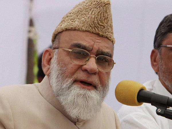 The Shahi Imam of Jama Masjid, Syed Ahmed Bukhari