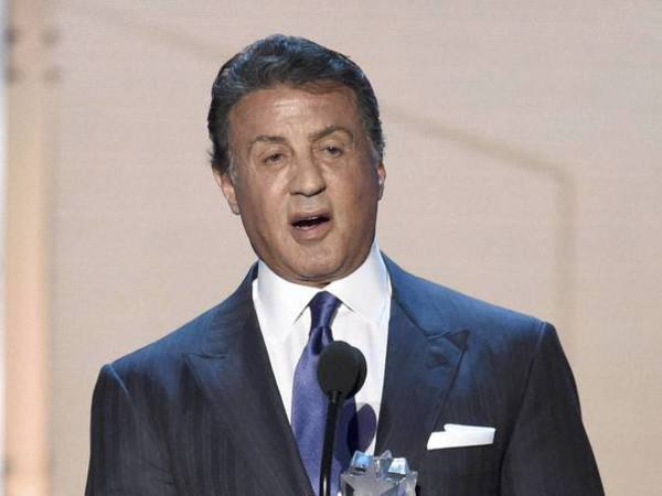 Actor Sylvester Stallone. PTI file photo