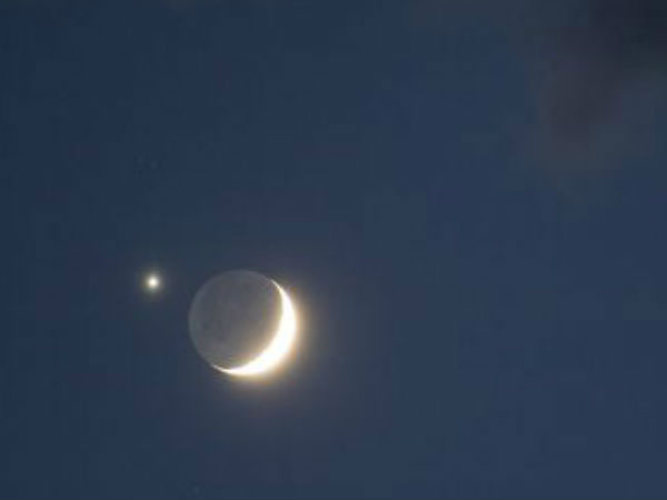 Venus near moon in dramatic sky show tonight: How to watch it