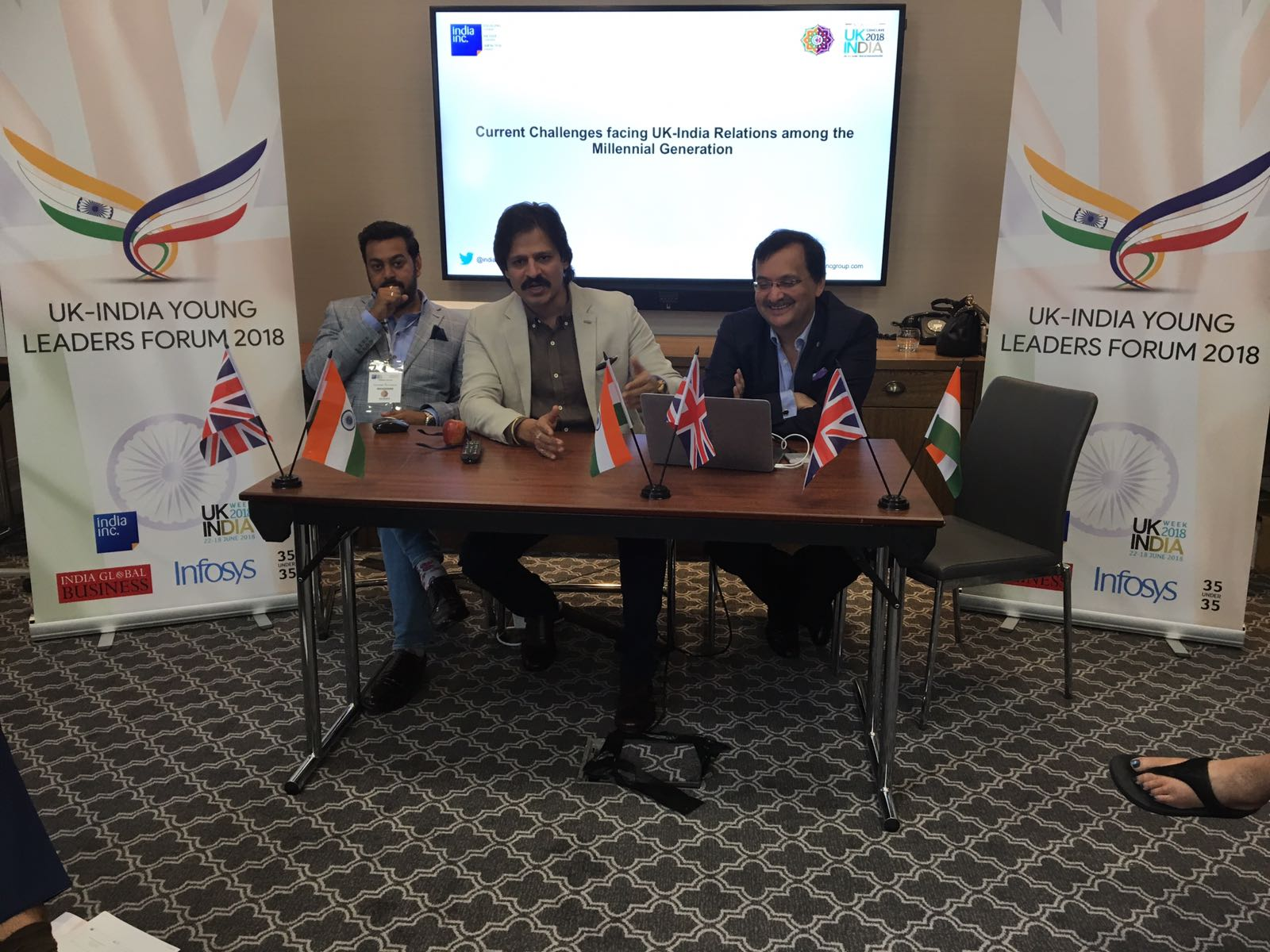 Vivek Oberoi at UK-India Week 2018