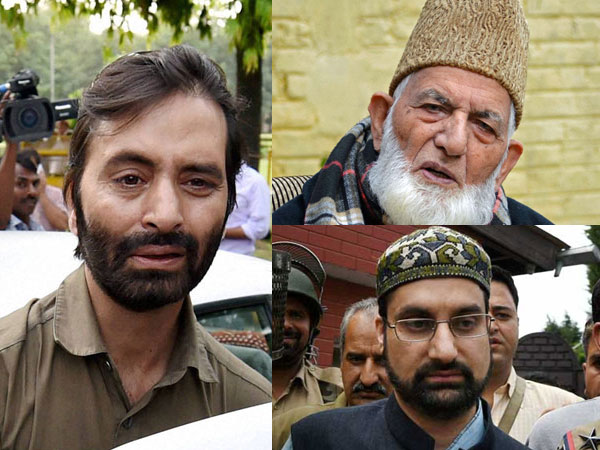 Terror funding: NIA to land at door-step of Yasin Malik, Geelani, Mirwaiz shortly