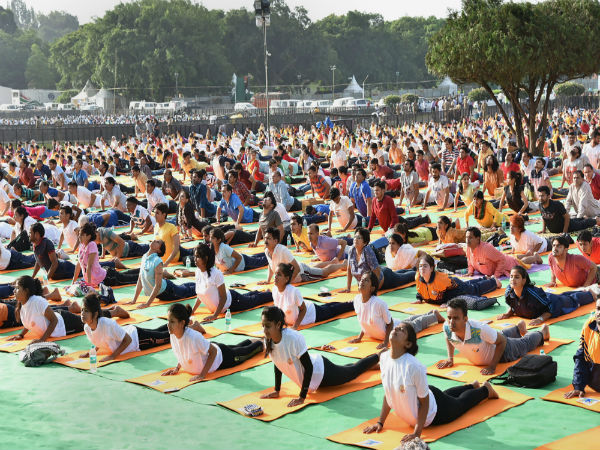 From Baba Ramdev To Ministers International Yoga Day Celebrated With Great Enthusiasm