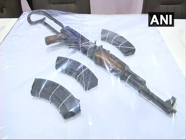 AK-56 seized from a Mumbai house