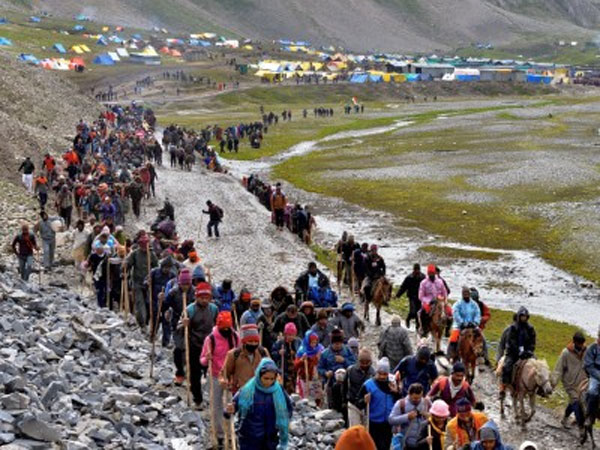 Amarnath Yatra: 326 evacuated from Panjtarni to Baltal base camp