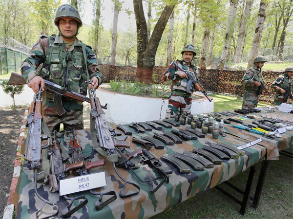 Arms dump, Pakistan currency found in Poonch forest