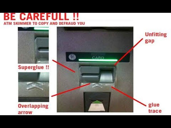 Are you a victim of ATM skimming? Here is how you can be
