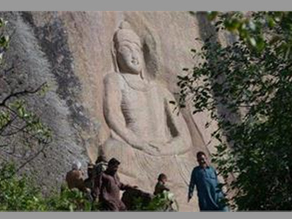Dynamited by Taliban 11 years ago, Buddha of Swat smiles again