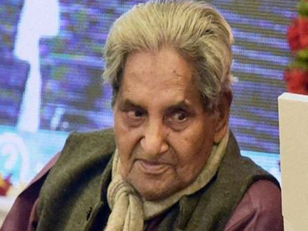 Poet and lyricist Gopaldas Neeraj passes away