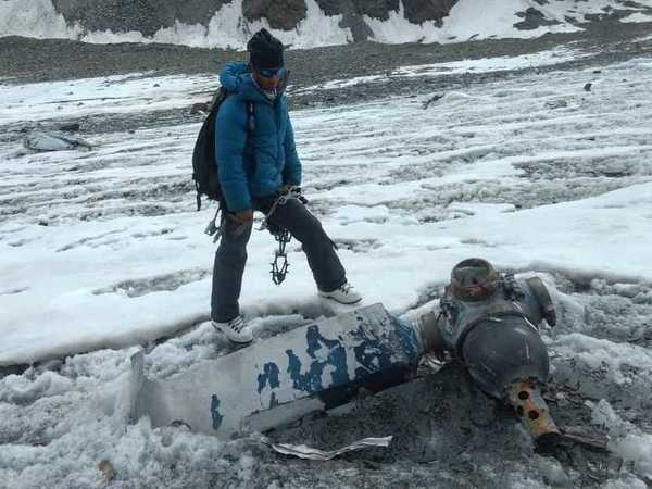 Body of soldier killed in 1968 IAF plane crash recovered at Dhaka glacier base cam. Courtesy: ANI news