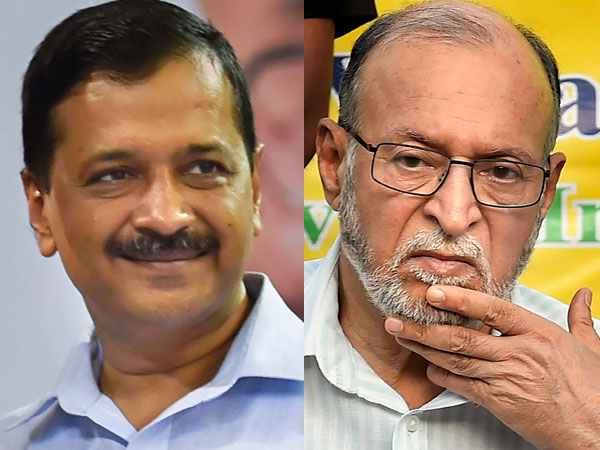 Kejriwal and Anil Baijal