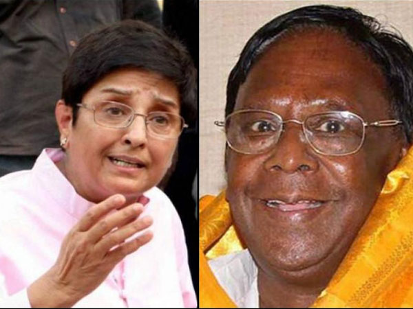 Don't meet officials when assembly in session: Puducherry CM to Kiran Bedi