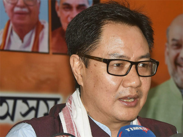 Union Minister of State for Home Affairs Kiren Rijiju