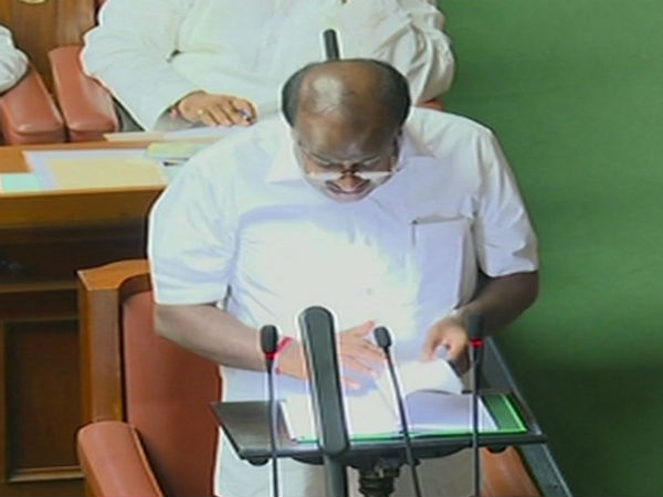 Karnataka Budget 2018 LIVE: CM HD Kumaraswamy announces Rs 34,000 cr farm loan waiver