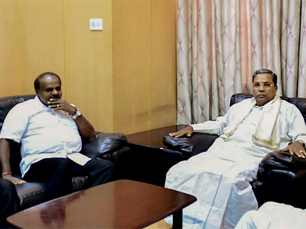 Chief Minister HD Kumaraswamy and Former chief minister Siddaramaiah