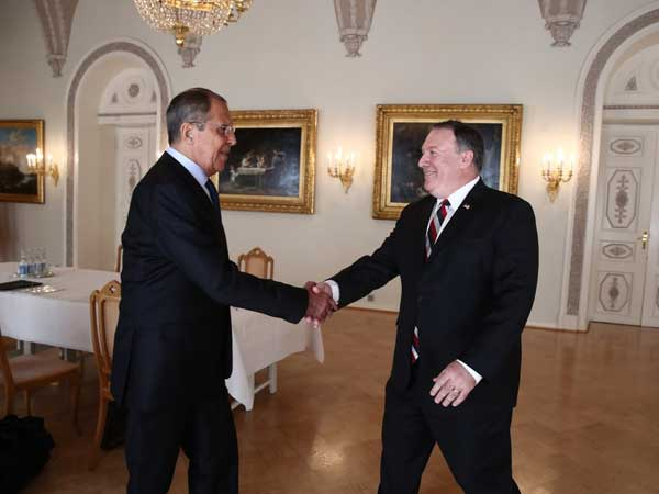 Russian foreign minister Lavrov, US State Secy Pompeo speak on bilateral, international issues