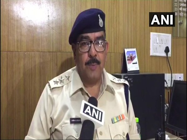 Mandsaurs Chief Superintendent of Police Rakesh Mohan Shukla (Image courtesy - ANI/Twitter)
