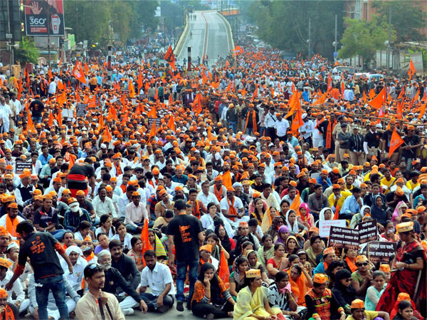 Maratha Kranti Morcha to go ahead with state-wide bandh tomorrow